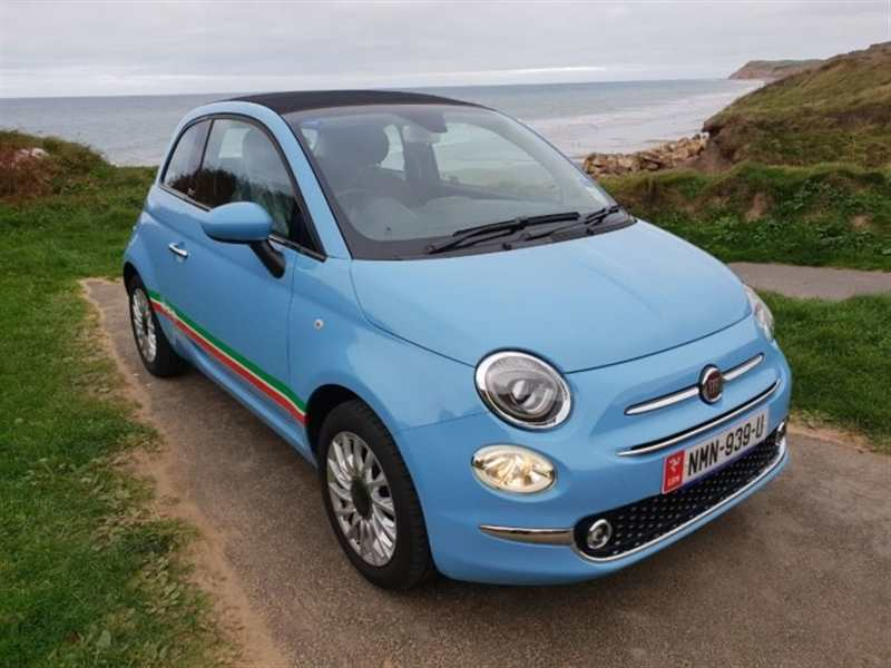 Fiat 500 1.2 Lounge convertible 2dr ONLY £46 TAX ONLY £43.20 a month