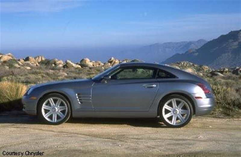 CHRYSLER CROSSFIRE 3.2 AUTOMATIC
