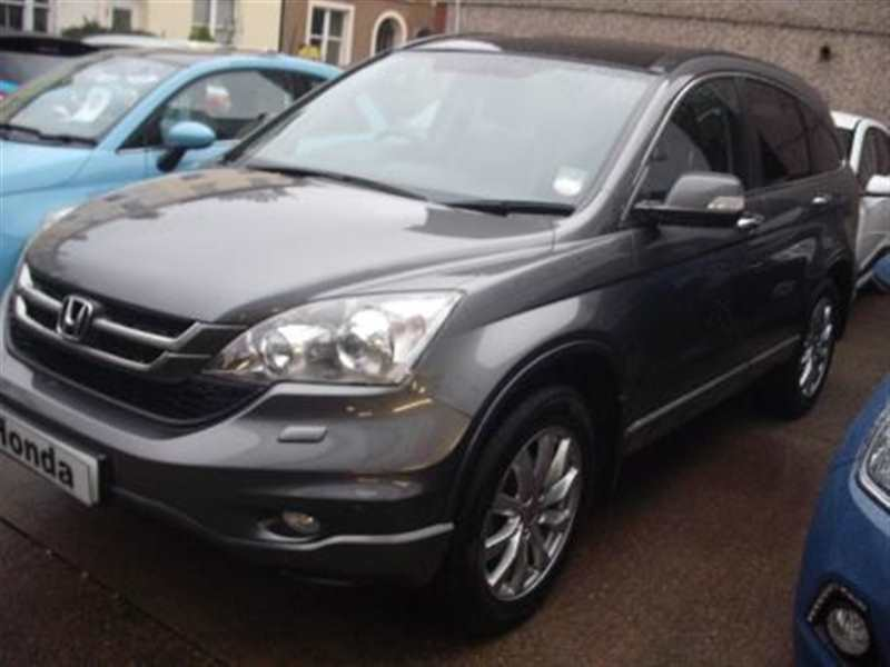 Honda CR-V 2.2 i-DTEC EX 5-door Polished silver met Only 31,000 miles Panoramic roof
