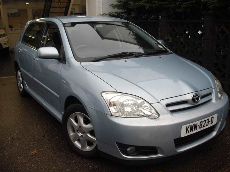 Toyota Corolla 1.6 Colour Collection 5-dr Ice blue metallic Lovely example