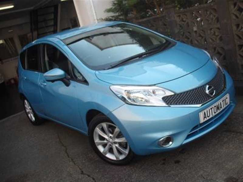 Nissan Note 1.2 DiG-S Tekna Automatic 5-door Light blue pearl Only 9,000 miles