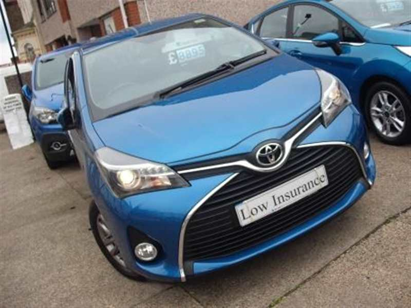 Toyota Yaris 1.33 VVT-I Icon 5-door Extras inc LED and Chrome pack £68 road tax