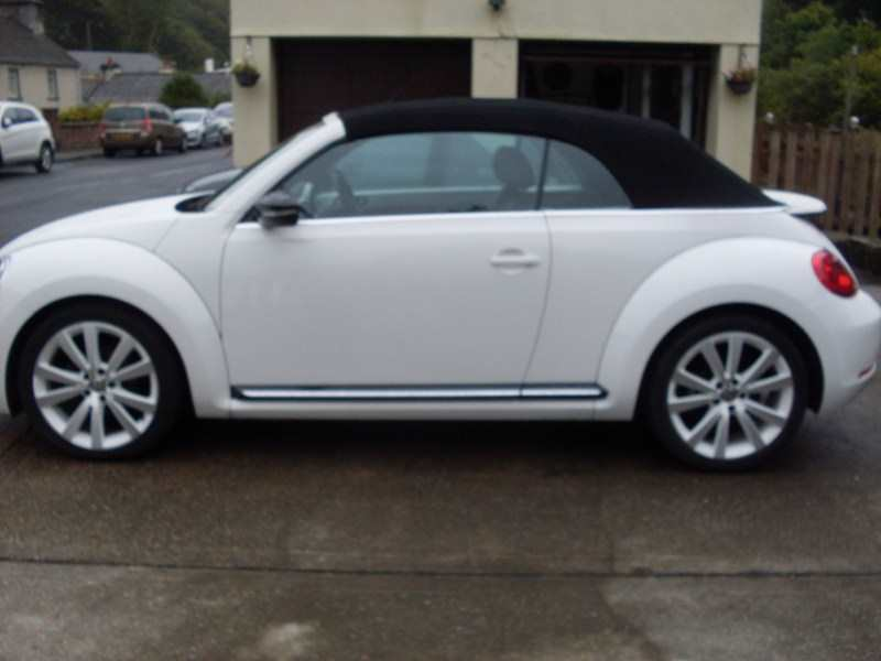 VW Beetle 2.0 Sport TDI 140 S-A (Automatic) Convertible