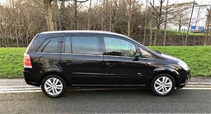 SOLD VAUXHALL ZAFIRA DESIGN -7 SEATS