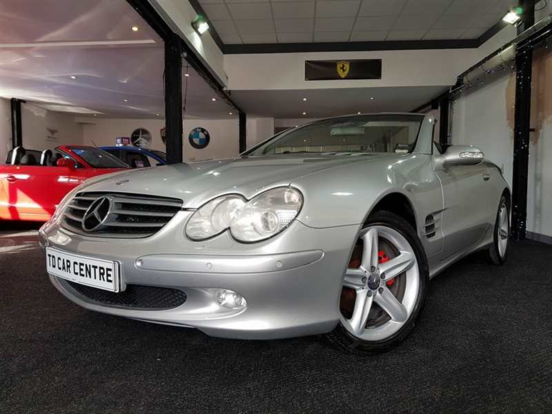 Mercedes-Benz SL CONVERTIBLE - £ 46 Per Week Automatic