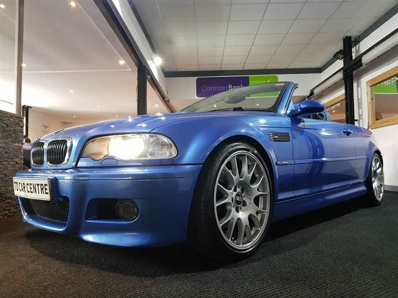 BMW M3 CONVERTIBLE - £ 74 Per Week Automatic