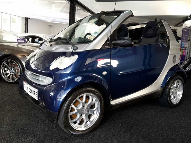 Smart FORTWO- PASSION CONVERTIBLE - £ 19 PER WEEK Automatic