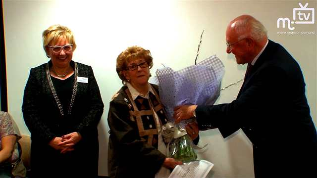 Preview of - Oldest Hospice Volunteer Retires