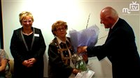 Oldest Hospice Volunteer Retires
