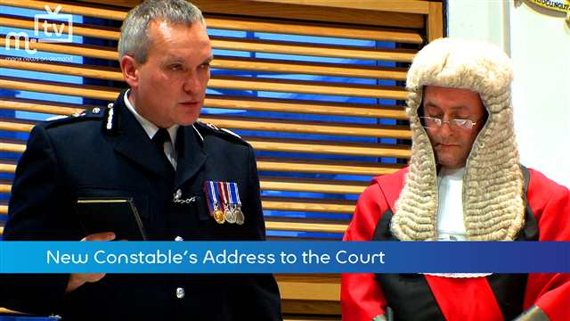 Preview of - Chief Constable takes Oath