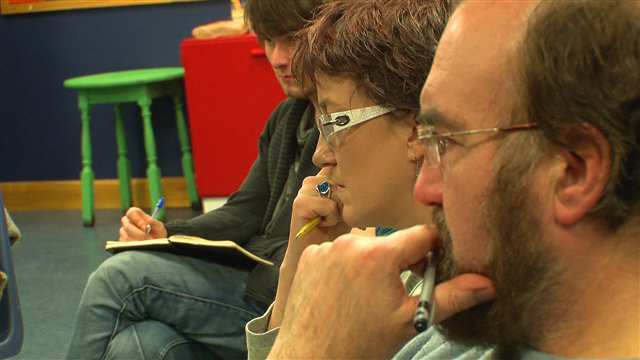 Preview of - Film makers hold directing classes
