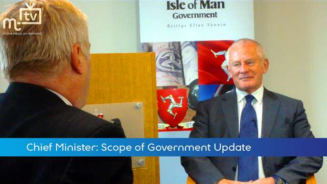 Preview of - Chief Minister: Scope of Government Update