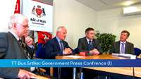 TT Bus Strike: Press Conference (1)