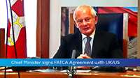 IoM Signs FATCA Agreement