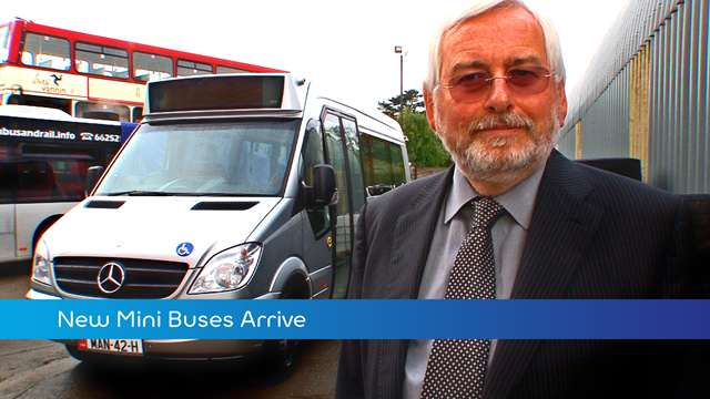 Preview of - New Mini Buses Arrive
