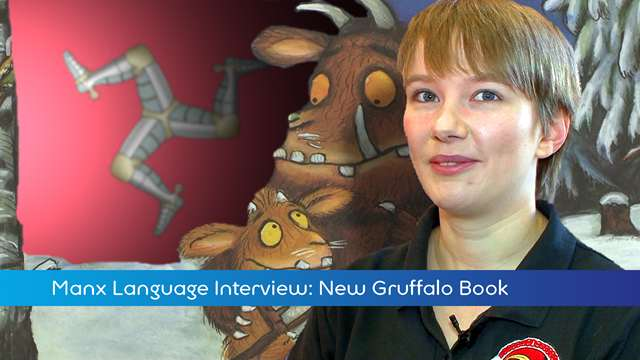 Preview of - New Manx Gruffalo Book