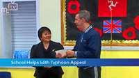 School Helps Typhoon Haiyan Victims