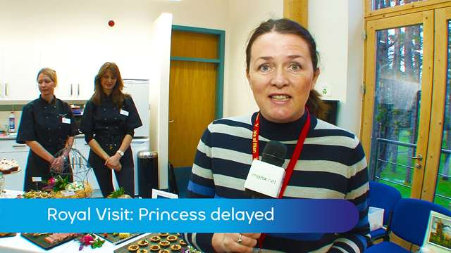 Preview of - Royal Visit: Princess delayed