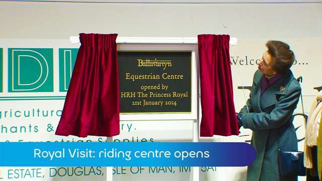 Preview of - Royal visit: Princess opens riding centre