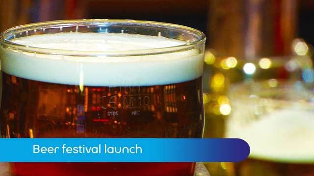 Preview of - Beer festival launch