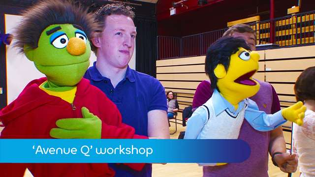 Preview of - Avenue Q workshop