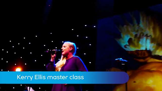 Preview of - Master class with Kerry Ellis