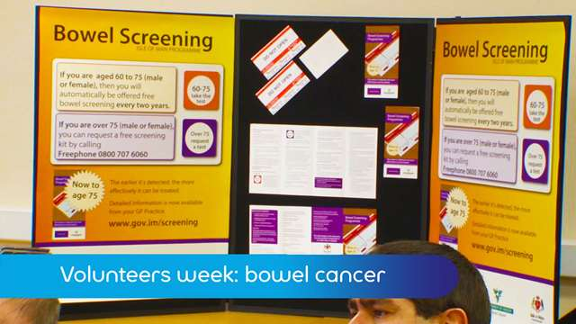 Preview of - Volunteers week: bowel cancer