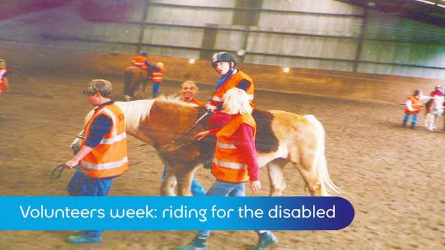 Preview of - Volunteers week: riding for the disabled