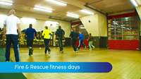 Fitness sessions with IoM Fire & Rescue