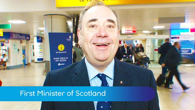 Preview of - First Minister Alex Salmond