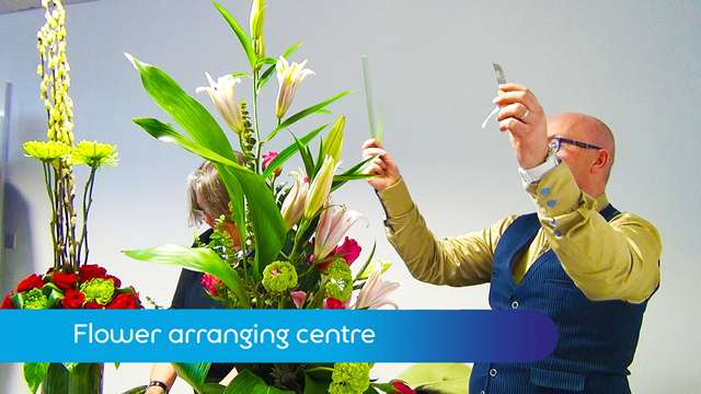Preview of - Flower arranging centre