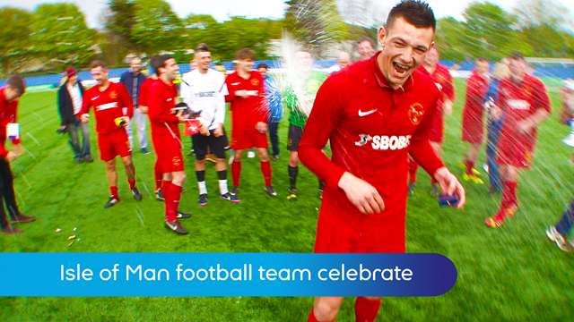 Preview of - FA inter-league cup final: celebrations