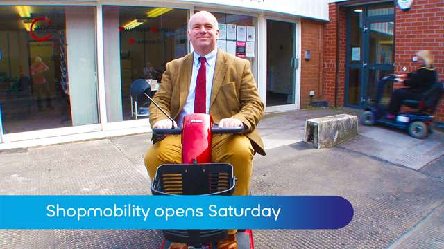 Preview of - Shopmobility on Saturdays