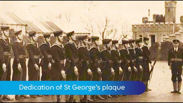 Preview of - HMS St George's plaque