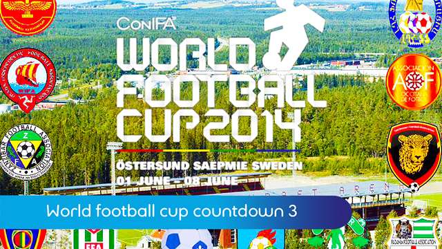 Preview of - World football cup countdown 3