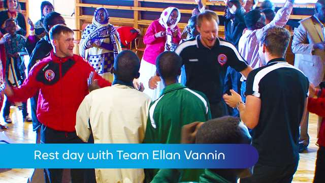Preview of - Team Ellan Vannin at Darfur event