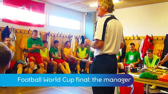 Preview of - World football cup: the manager