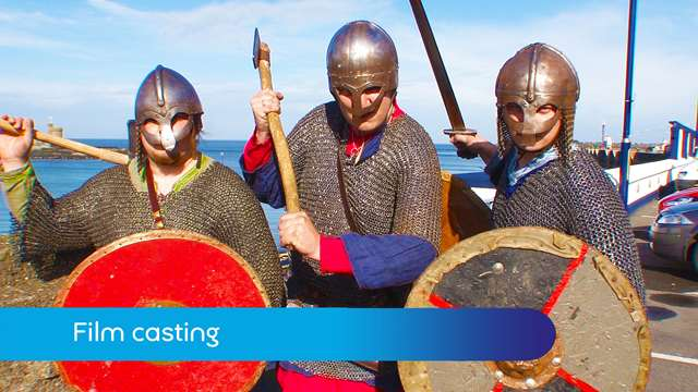 Preview of - Viking film casting