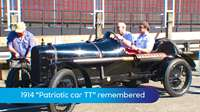 Patriotic car TT remembered
