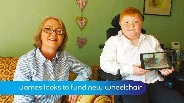 Preview of - Raising funds for new wheelchair