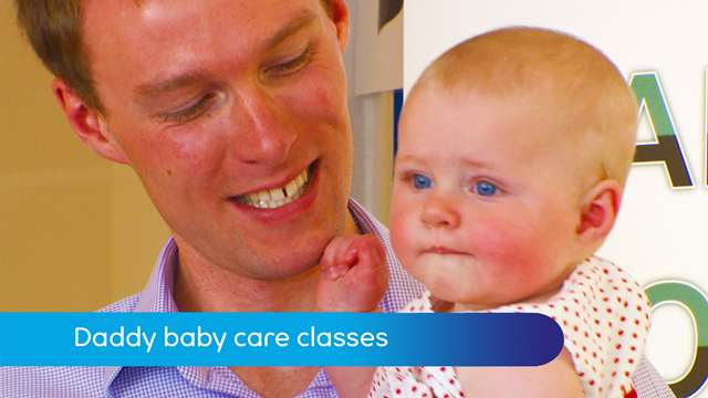 Preview of - Daddy baby care courses