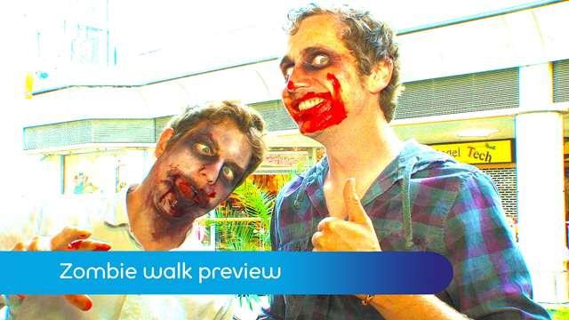 Preview of - Zombie walk preview