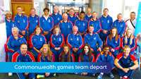 Commonwealth Games team departs