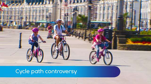 Preview of - Cycle path controversy