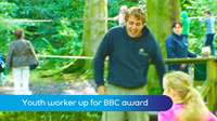 Youth worker up for TV award