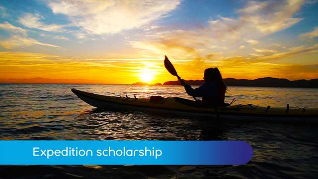 Preview of - Expedition scholarship