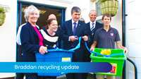 Braddan recycling update