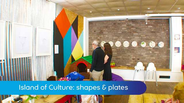 Preview of - Island of Culture: shapes and plates