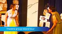 Theatre group Island tour