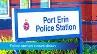 Police station closes